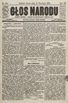 Głos Narodu. 1895, nr208