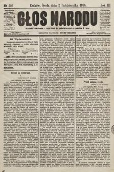 Głos Narodu. 1895, nr226
