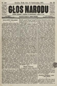 Głos Narodu. 1895, nr238
