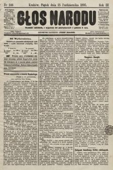 Głos Narodu. 1895, nr246
