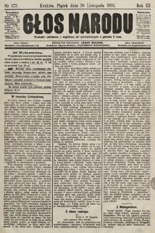 Głos Narodu. 1895, nr275