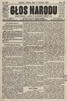 Głos Narodu. 1895, nr282