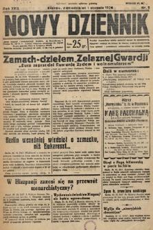 Nowy Dziennik. 1934, nr1