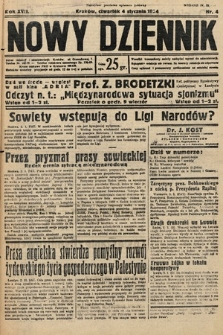 Nowy Dziennik. 1934, nr4