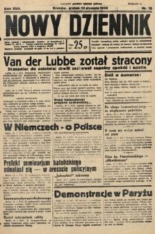 Nowy Dziennik. 1934, nr12