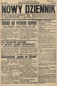 Nowy Dziennik. 1934, nr13