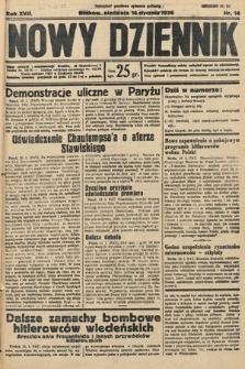 Nowy Dziennik. 1934, nr14