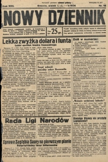 Nowy Dziennik. 1934, nr19