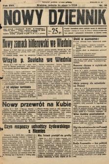Nowy Dziennik. 1934, nr20