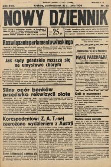 Nowy Dziennik. 1934, nr22