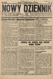 Nowy Dziennik. 1934, nr23