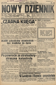 Nowy Dziennik. 1934, nr33