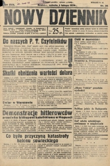 Nowy Dziennik. 1934, nr34