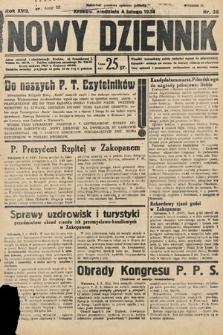 Nowy Dziennik. 1934, nr35