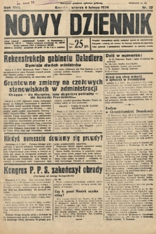 Nowy Dziennik. 1934, nr37