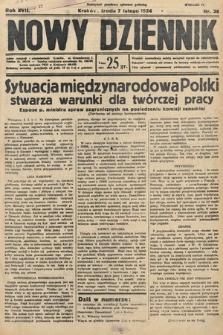 Nowy Dziennik. 1934, nr38
