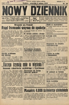 Nowy Dziennik. 1934, nr39