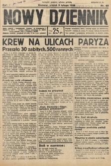 Nowy Dziennik. 1934, nr40