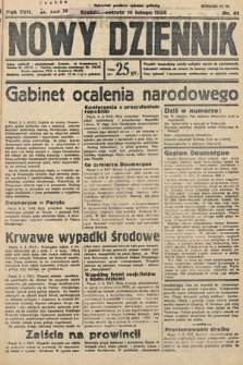 Nowy Dziennik. 1934, nr41