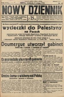 Nowy Dziennik. 1934, nr42