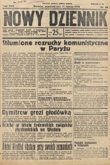 Nowy Dziennik. 1934, nr43