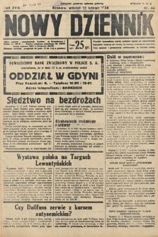 Nowy Dziennik. 1934, nr44