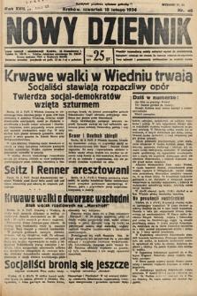 Nowy Dziennik. 1934, nr46