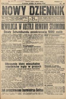 Nowy Dziennik. 1934, nr47