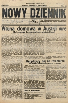 Nowy Dziennik. 1934, nr48