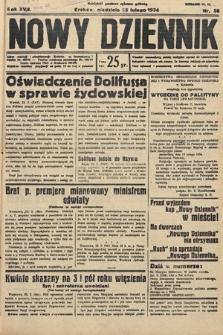 Nowy Dziennik. 1934, nr56