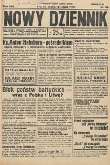 Nowy Dziennik. 1934, nr59