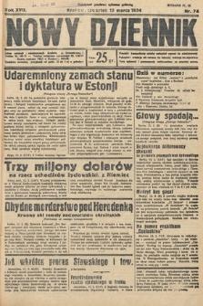 Nowy Dziennik. 1934, nr74