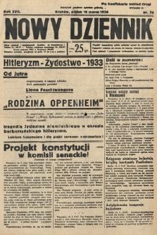 Nowy Dziennik. 1934, nr75