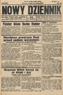 Nowy Dziennik. 1934, nr80