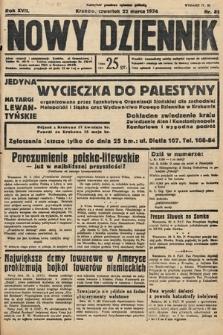 Nowy Dziennik. 1934, nr81