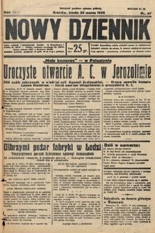 Nowy Dziennik. 1934, nr87