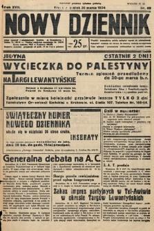 Nowy Dziennik. 1934, nr89