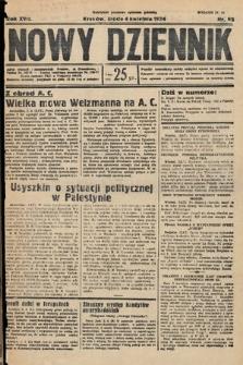 Nowy Dziennik. 1934, nr92