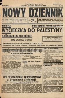 Nowy Dziennik. 1934, nr93
