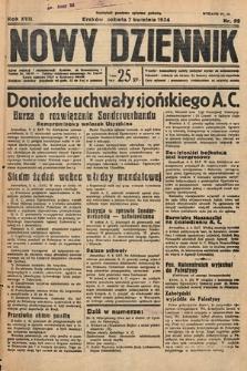 Nowy Dziennik. 1934, nr95