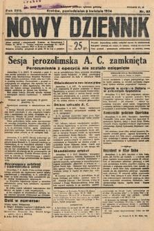 Nowy Dziennik. 1934, nr97