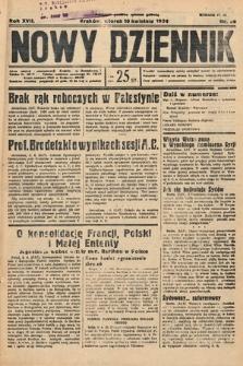 Nowy Dziennik. 1934, nr98