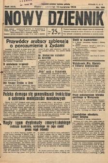Nowy Dziennik. 1934, nr100