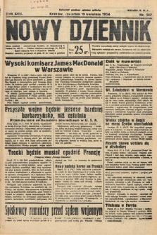 Nowy Dziennik. 1934, nr107