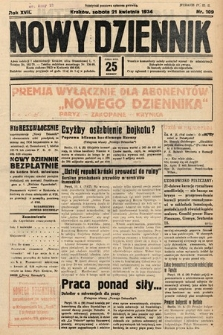 Nowy Dziennik. 1934, nr109
