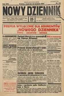 Nowy Dziennik. 1934, nr110