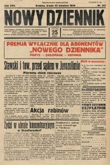 Nowy Dziennik. 1934, nr113