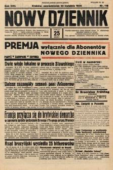 Nowy Dziennik. 1934, nr118