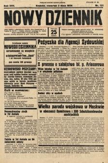 Nowy Dziennik. 1934, nr121