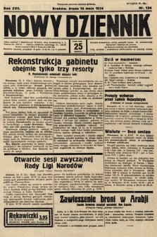 Nowy Dziennik. 1934, nr134